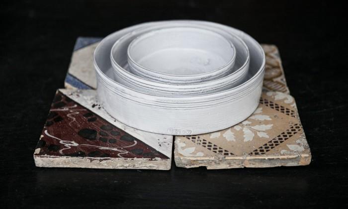 shabby chic ceramic dishware