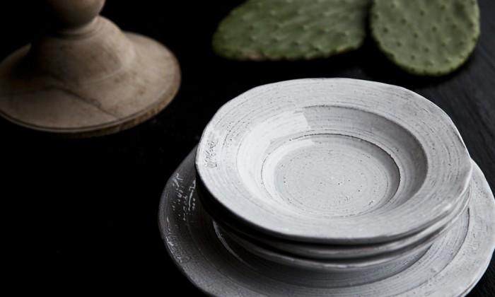 shabby chic handmade ceramic dishes