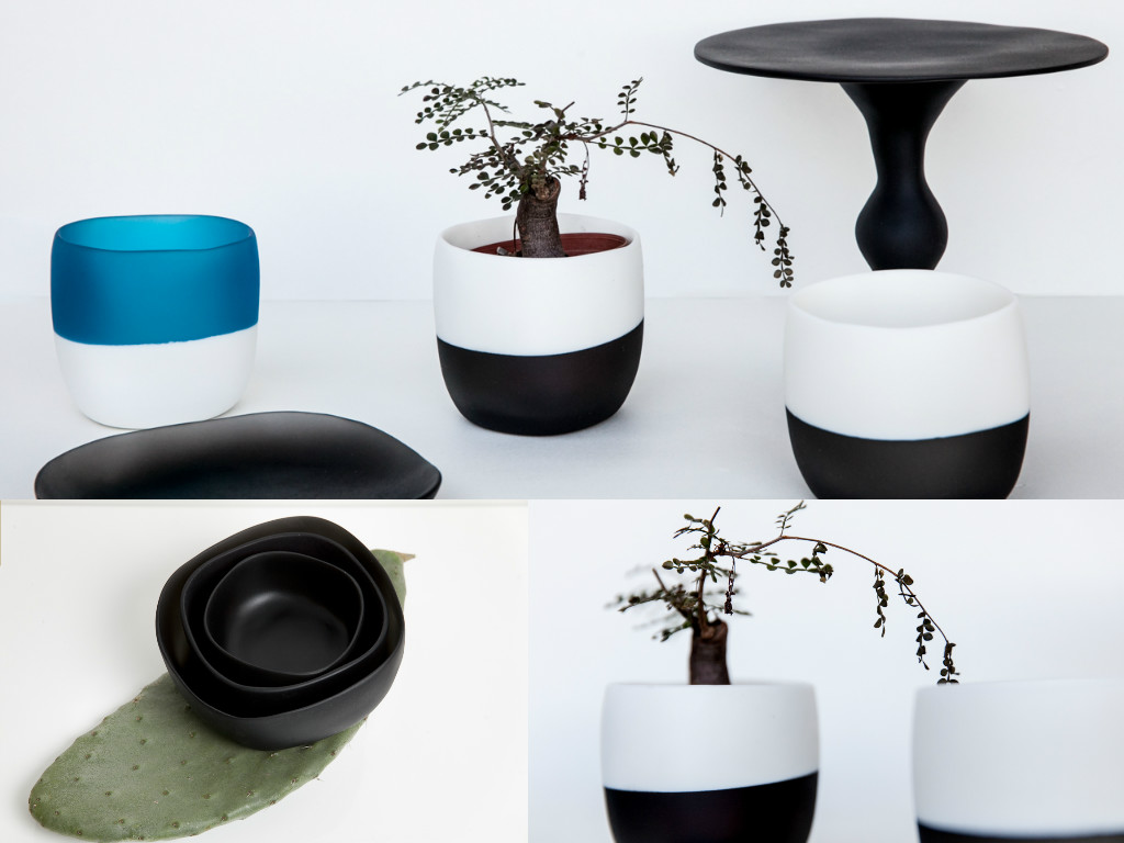 Modern resin tableware: mezzo Pieno pots or glasses?