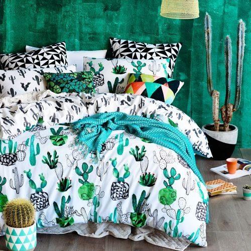 Cactus style bedroom