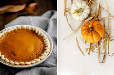 Pumpkin pie, tè caldo, Halloween!
