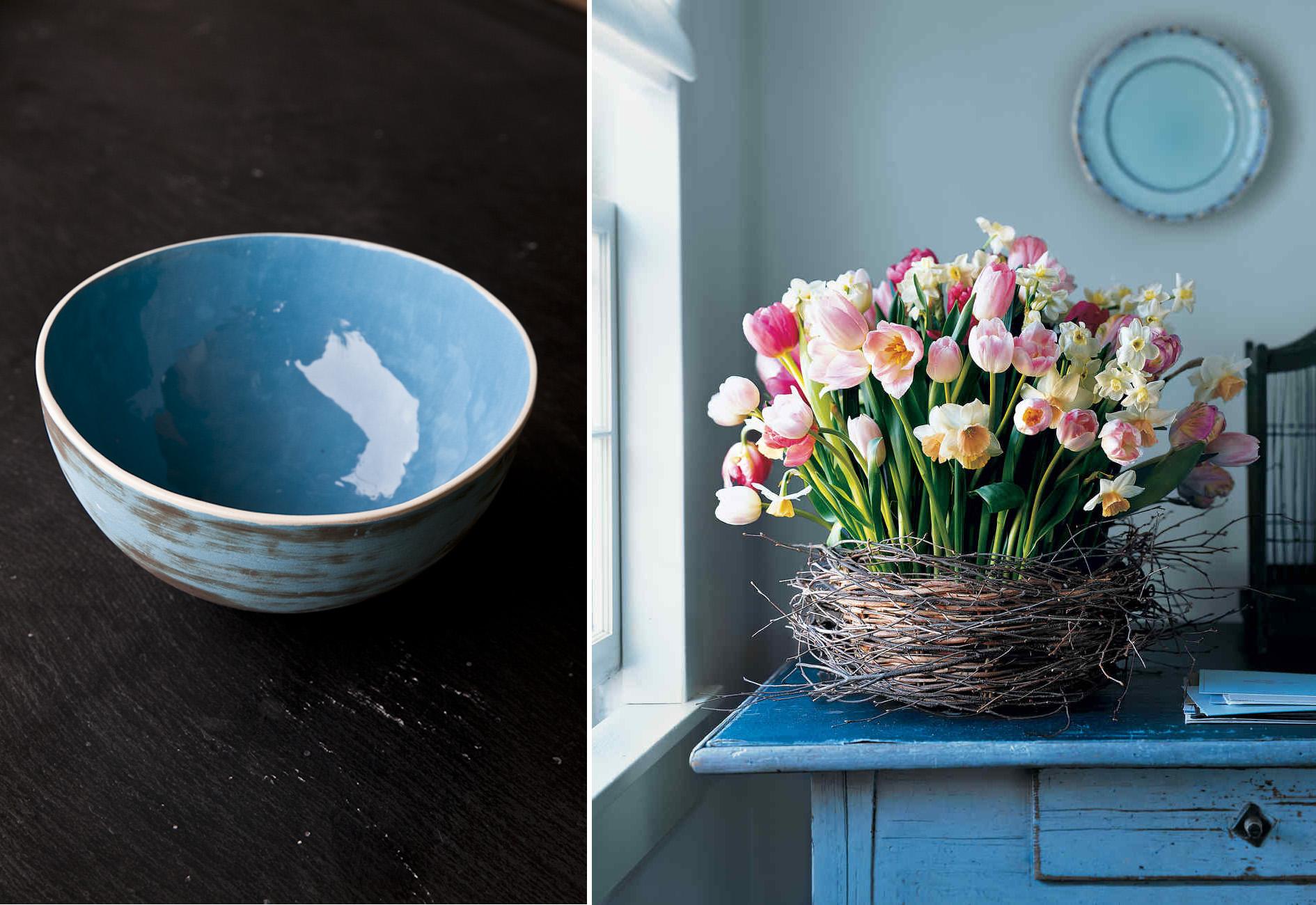 Come decorare le uova con i colori naturali per il nostro centrotavola home-made