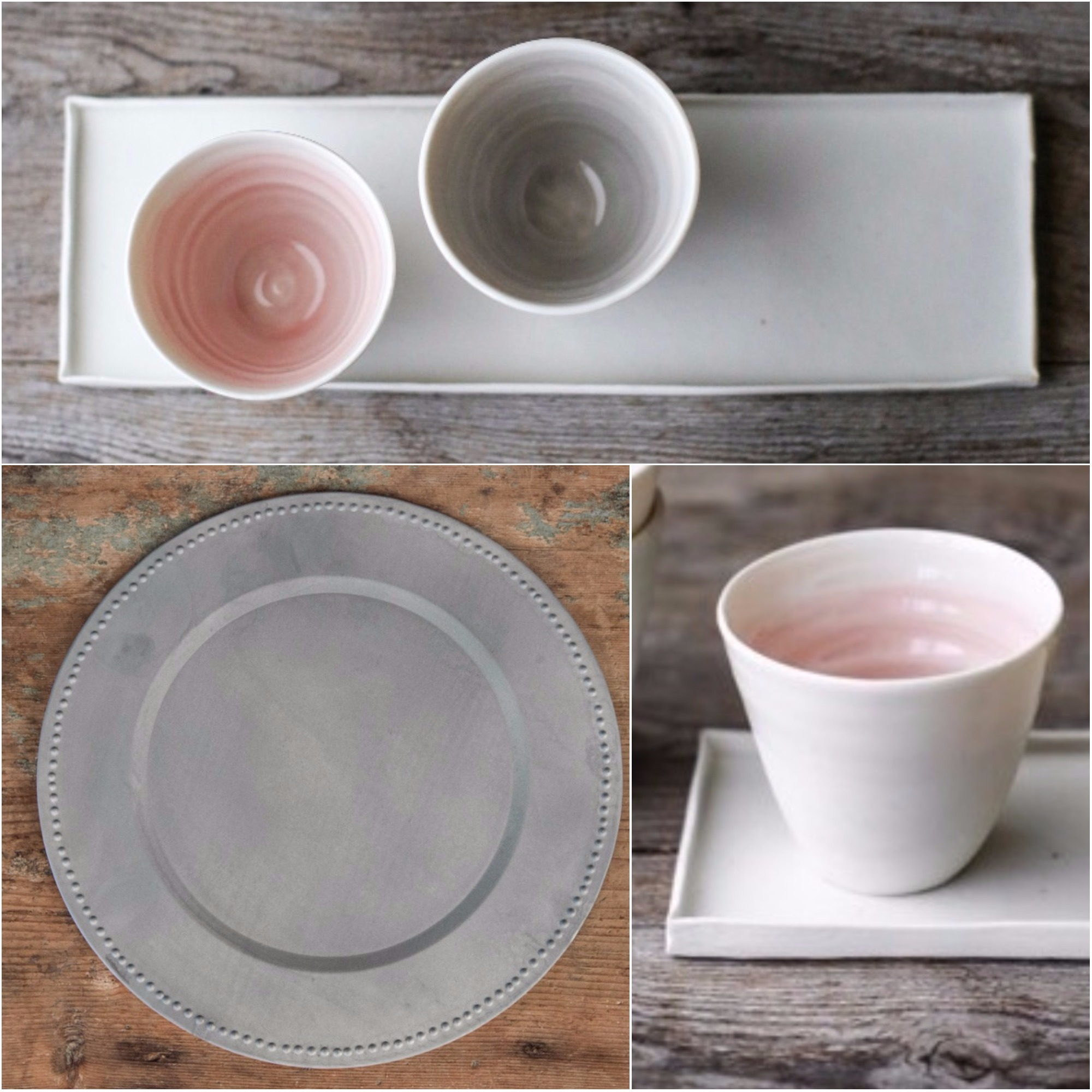 handmade tableware
