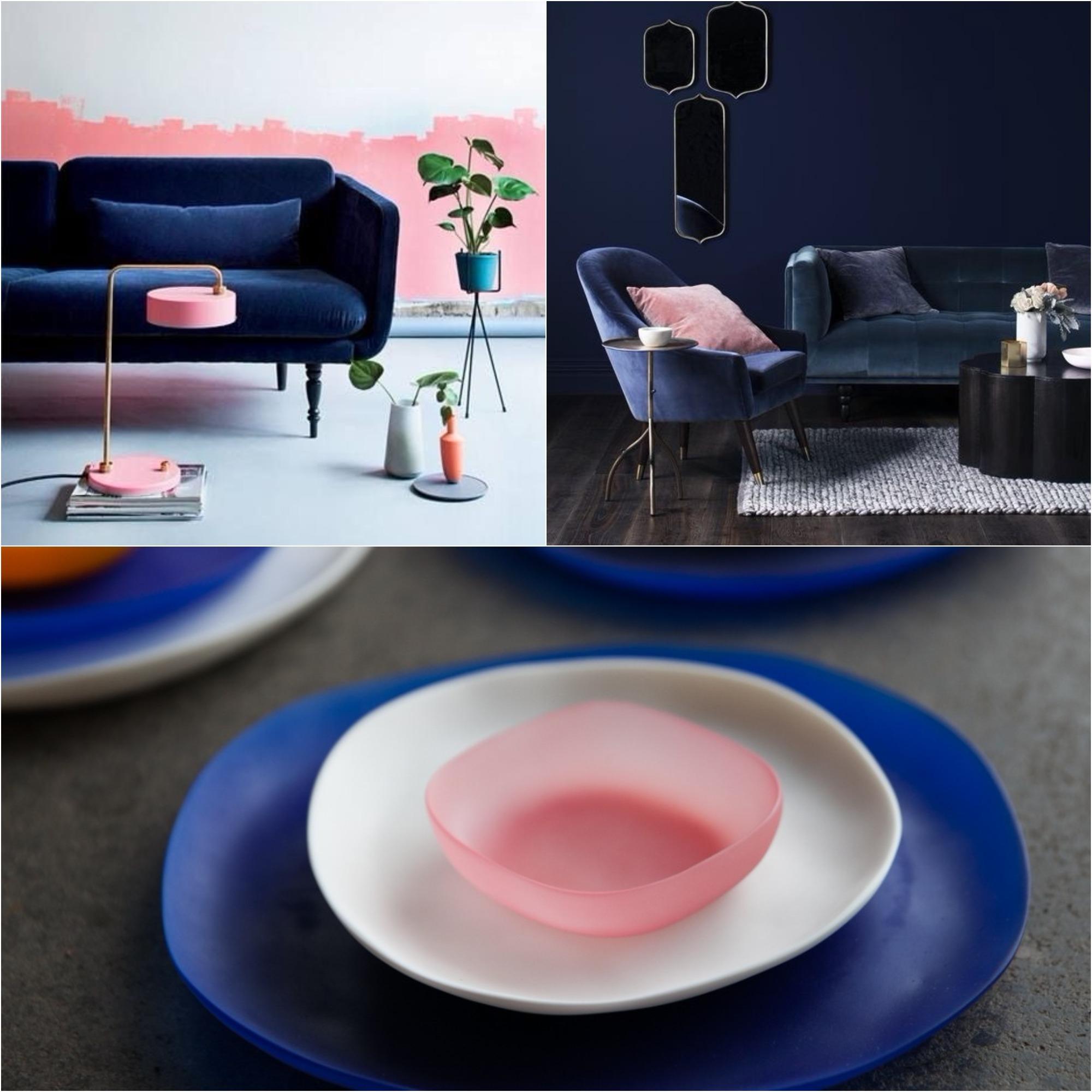 blue resina plates