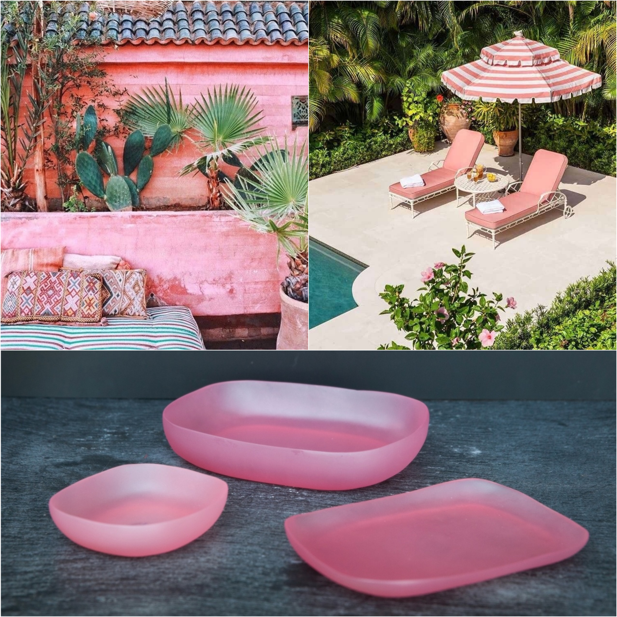 pink boho