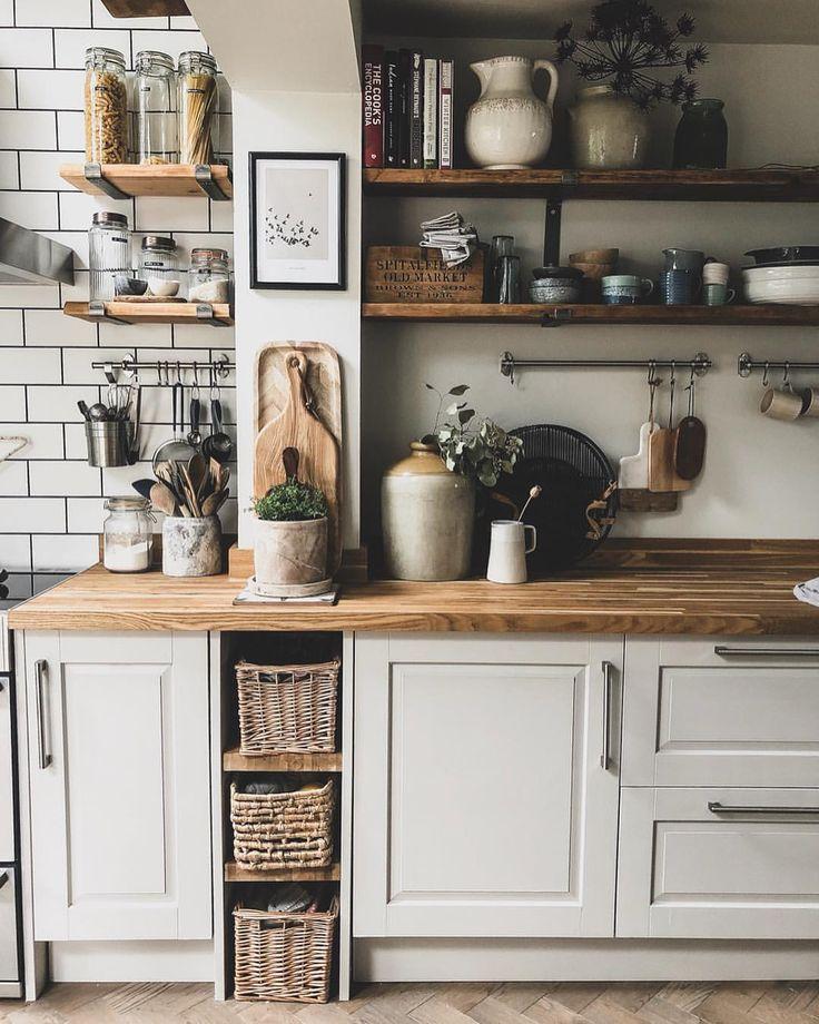 cucina rustica in legno. 4 top trend dell'home decor nel 2020.